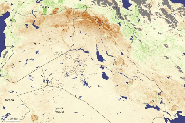 Credit: NASA/Terra/MODIS